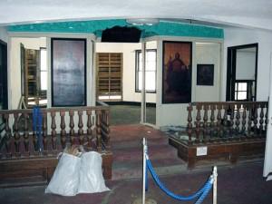 聖イオアン会堂内部